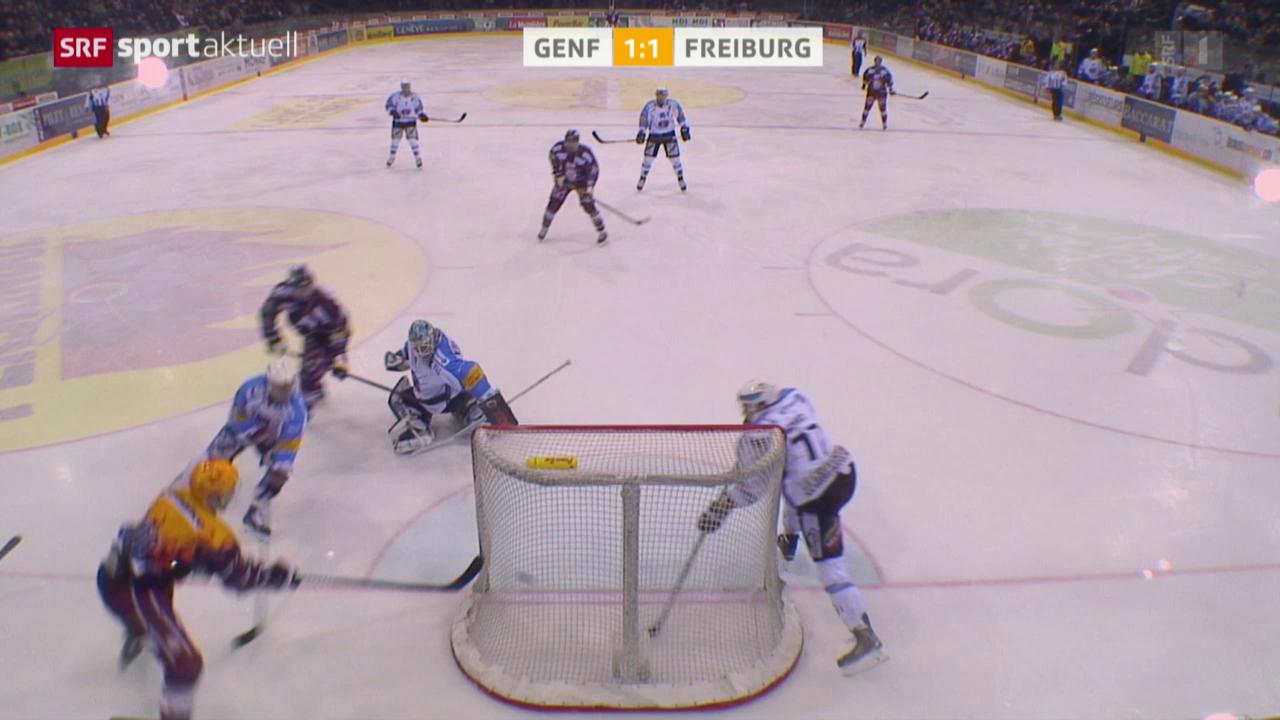 Eishockey: NLA, Genf - Freiburg