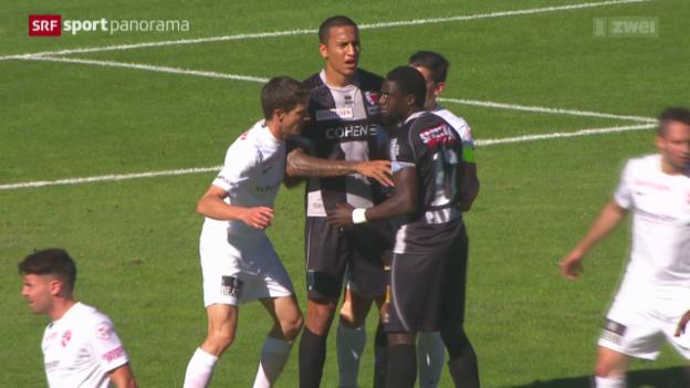 Video «Fussball: Super League, Sion - Thun» abspielen