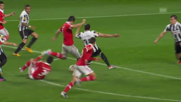 Video «Europa League: Benfica Lissabon - Newcastle United» abspielen