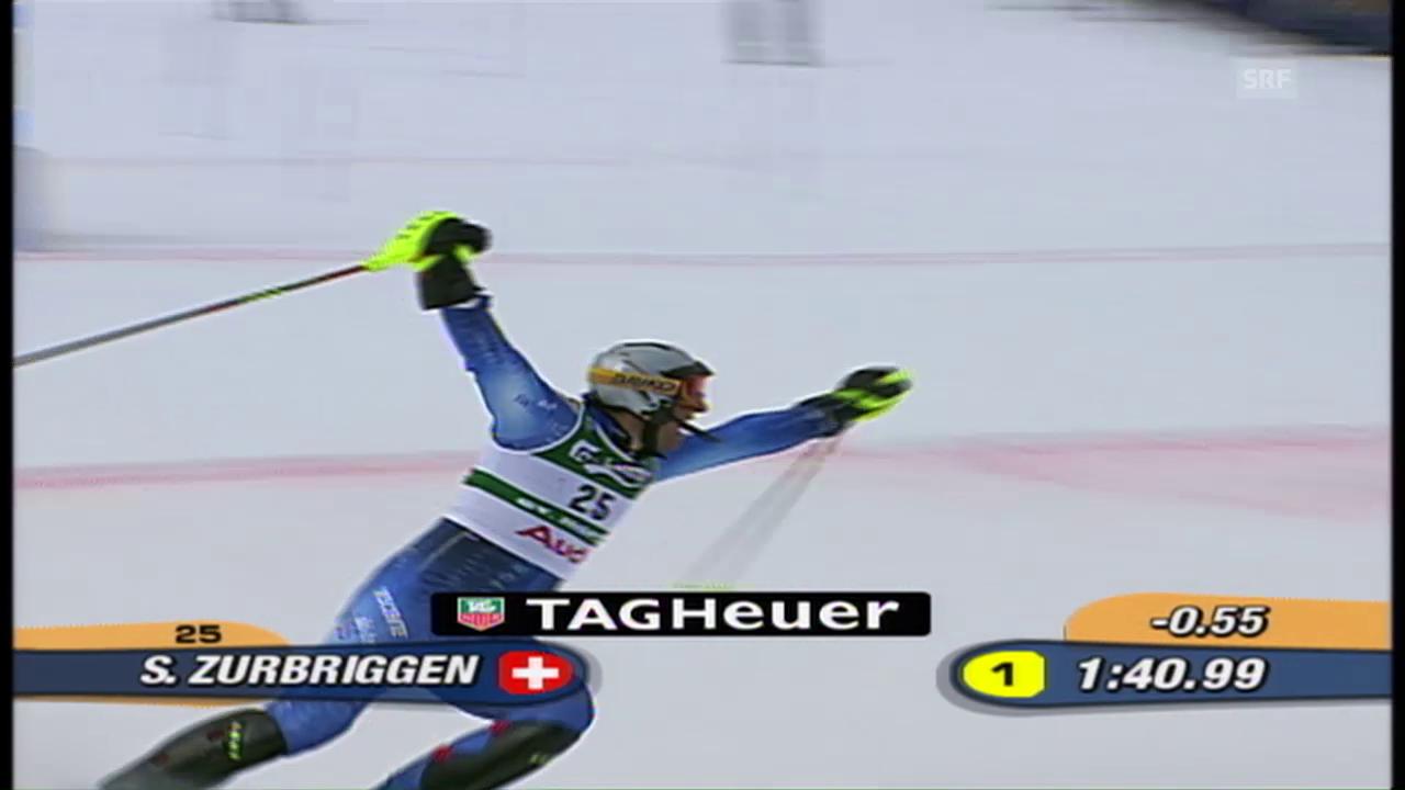 Ski-WM 2003: Silvan Zurbriggen holt sensationell Silber im Slalom