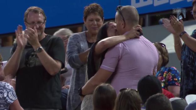 Video «Tennis: Australian Open, 3. Runde, Djokovic-Verdasco» abspielen