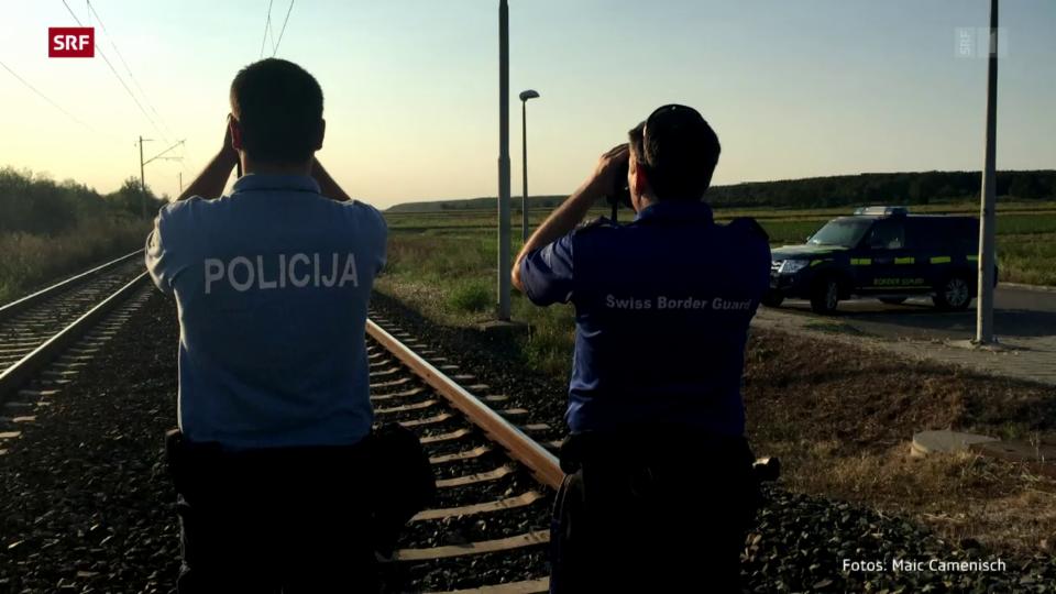 Aus dem Archiv: Die Schweiz beteiligt sich am Ausbau der Frontex.