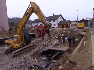 Gretzenbach: Letzte Fahrzeuge freigelegt
