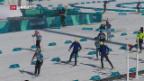Video «Pyeongchang: Kälte bei Biathlon» abspielen