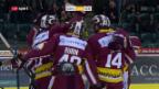 Video «Genf überrascht den SC Bern» abspielen