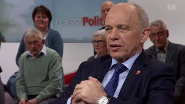Video «Finanzminister Ueli Maurer zur Unternehmenssteuerreform und Ehepaar-Besteuerung» abspielen