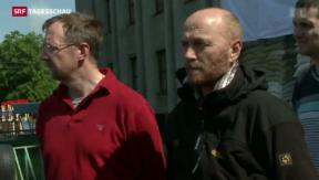 Video «Gefangene OSZE-Beobachter wieder frei» abspielen