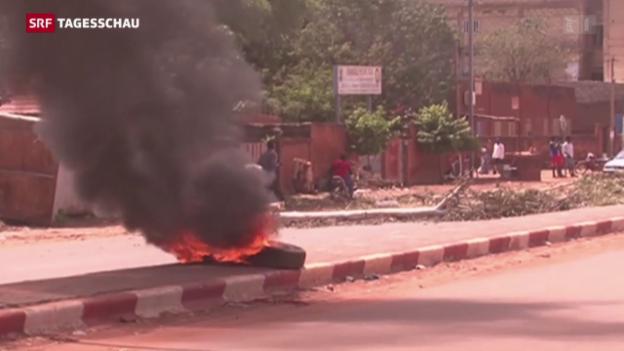 Video «Von Putsch zu Putsch in Burkina Faso» abspielen