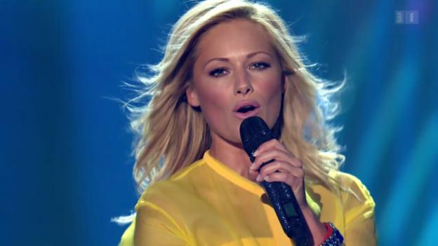 Video «Helene Fischer mit «Atemlos durch die Nacht» bei Hello Again» abspielen