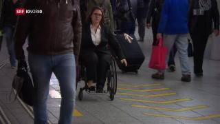 Video «Für Behinderte ist ÖV-Fahren immer noch schwierig» abspielen