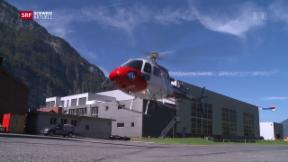 Video «Stromleitungen: Grosse Gefahr für Helikopter» abspielen