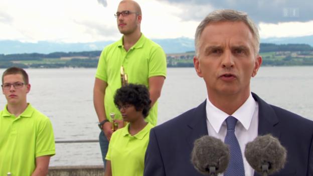 Video «Bundespräsident Didier Burkhalter zum 1. August» abspielen