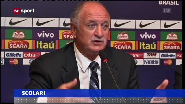 Scolari wird neuer Brasilien-Coach («sportaktuell» vom 29.11.2012)