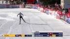 Video «Ski nordisch: Langlauf-Weltcuo in Davos, Seraina Boner» abspielen