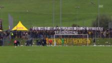 Video «YB-Fans protestieren gegen den Verwaltungsrat» abspielen