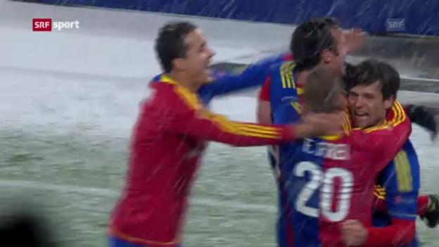 Video «EL: Spielbericht Basel - Dnjepr» abspielen