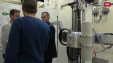 Link öffnet eine Lightbox. Video Schweizer Röntgengerät für Entwicklungsländer abspielen