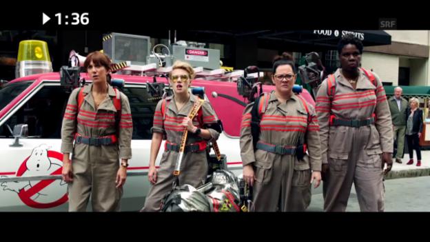 Video «Im Kino: «Ghostbusters»» abspielen
