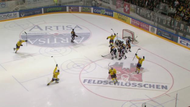 Video «Berns Doppelschlag innert 101 Sekunden» abspielen