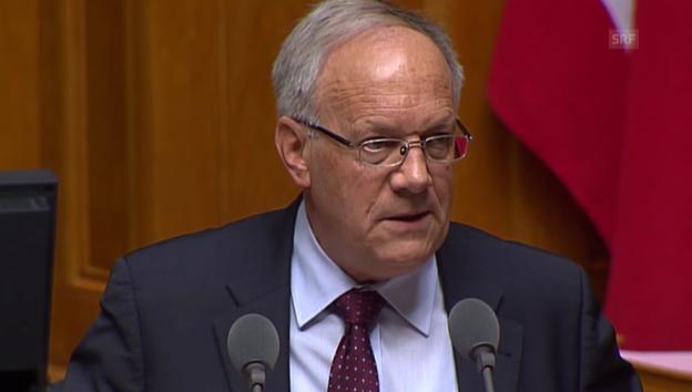 Video «Schneider-Ammann: «Der Weiterbildungsmarkt funktioniert sehr gut»» abspielen
