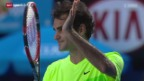 Video «Tennis: Australian Open, Federer - Bolelli» abspielen