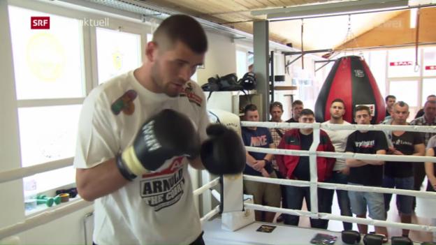 Video «Grosser Kampf für Arnold Gjergjaj» abspielen