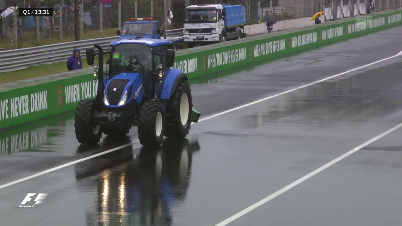 Mit dem Blasebalg: Wie wird Monza das Wasser los?
