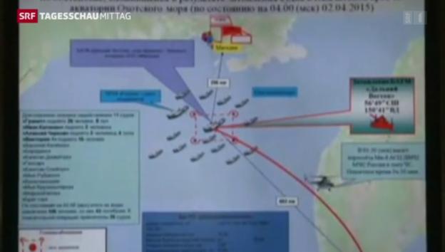 Video «Schiffsunglück im Osten Russlands» abspielen