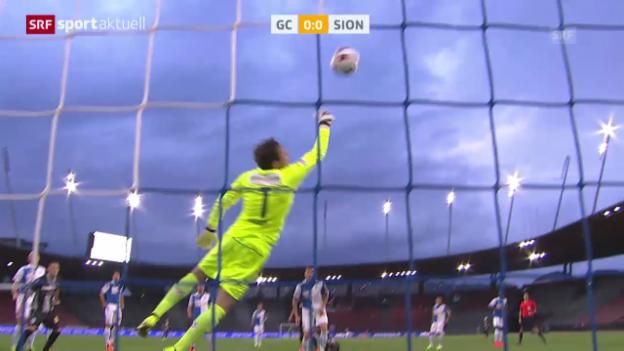 Video «Fussball. Super League, GC-Sion» abspielen