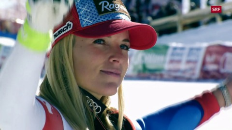 Gut-Behrami vergoldet in Cortina ihre Karriere