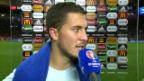 Video «Eden Hazard: «Haben den Sieg auch in dieser Höhe verdient»» abspielen