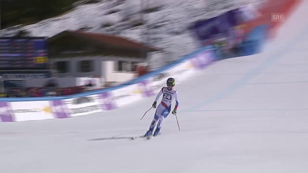 Ski alpin: Weltcup Frauen, Super-G Garmisch, Fahrt Suter