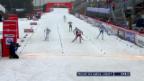 Video «Langlauf: Sprint Oberhof, Frauen («sportaktuell» vom 29.12.2013)» abspielen
