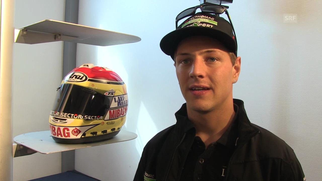 Motorrad: Interview mit Dominique Aegerter, Quali Sachsenring