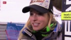 Video «Ski Alpin: Doppelsieg im Super-G» abspielen