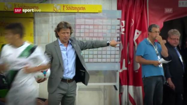 Video «Die Schweizer Klubs vor den EL-Playoff-Rückspielen («sportlive»)» abspielen