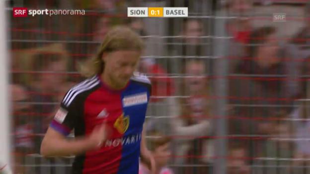Video «Fussball: Super League, Sion - Basel» abspielen