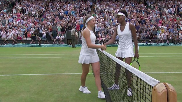Video «Williams - Ostapenko: Der Matchball» abspielen