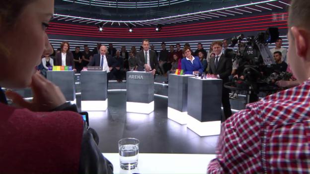 Video «Abstimmungs-Arena: «Unternehmenssteuerreform III»» abspielen