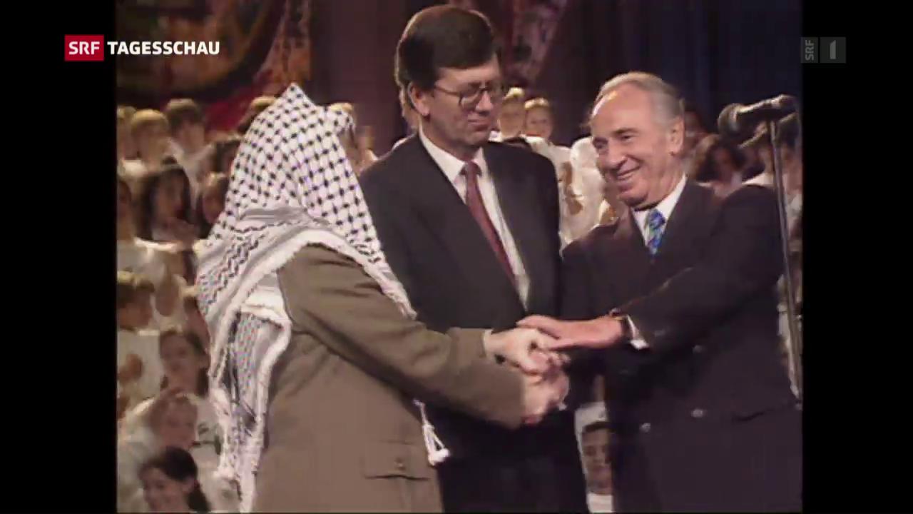 Schimon Peres gestorben