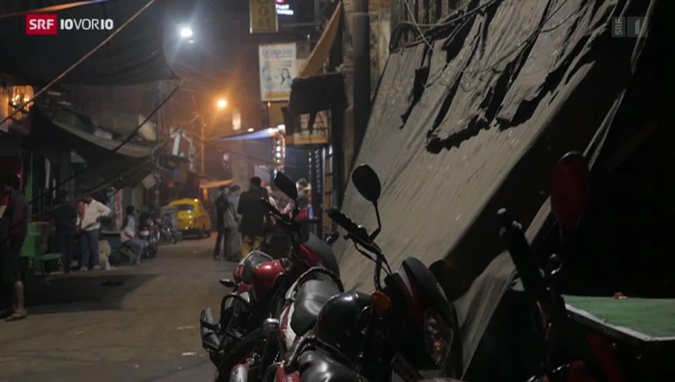 Essen in der Mega-City Kalkutta