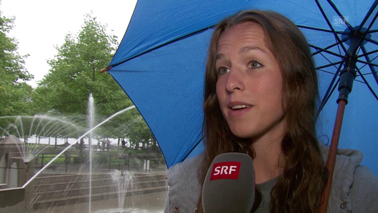 Fussball: Frauen-WM, Interview Lia Wälti vor Achtelfinal