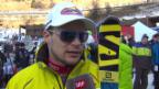 Video «Ski Alpin: Abfahrt Männer in Gröden, Interview mit Küng («sportlive», 21.12.2013)» abspielen
