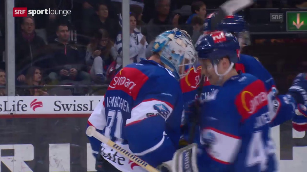 Eishockey: ZSC Lions-SCL Tigers