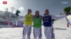 Video «Skicross Männer: Dreifachsieg für die Franzosen» abspielen