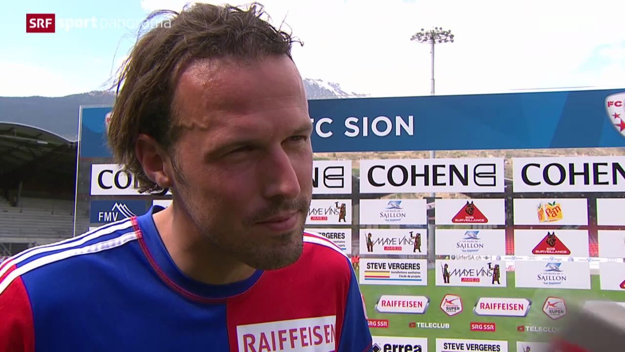 Fussball: Stimmen zu Sion - Basel