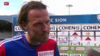 Video «Fussball: Stimmen zu Sion - Basel» abspielen