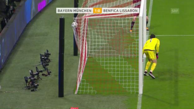 Video «CL-Zusammenfassung: Bayern - Benfica» abspielen