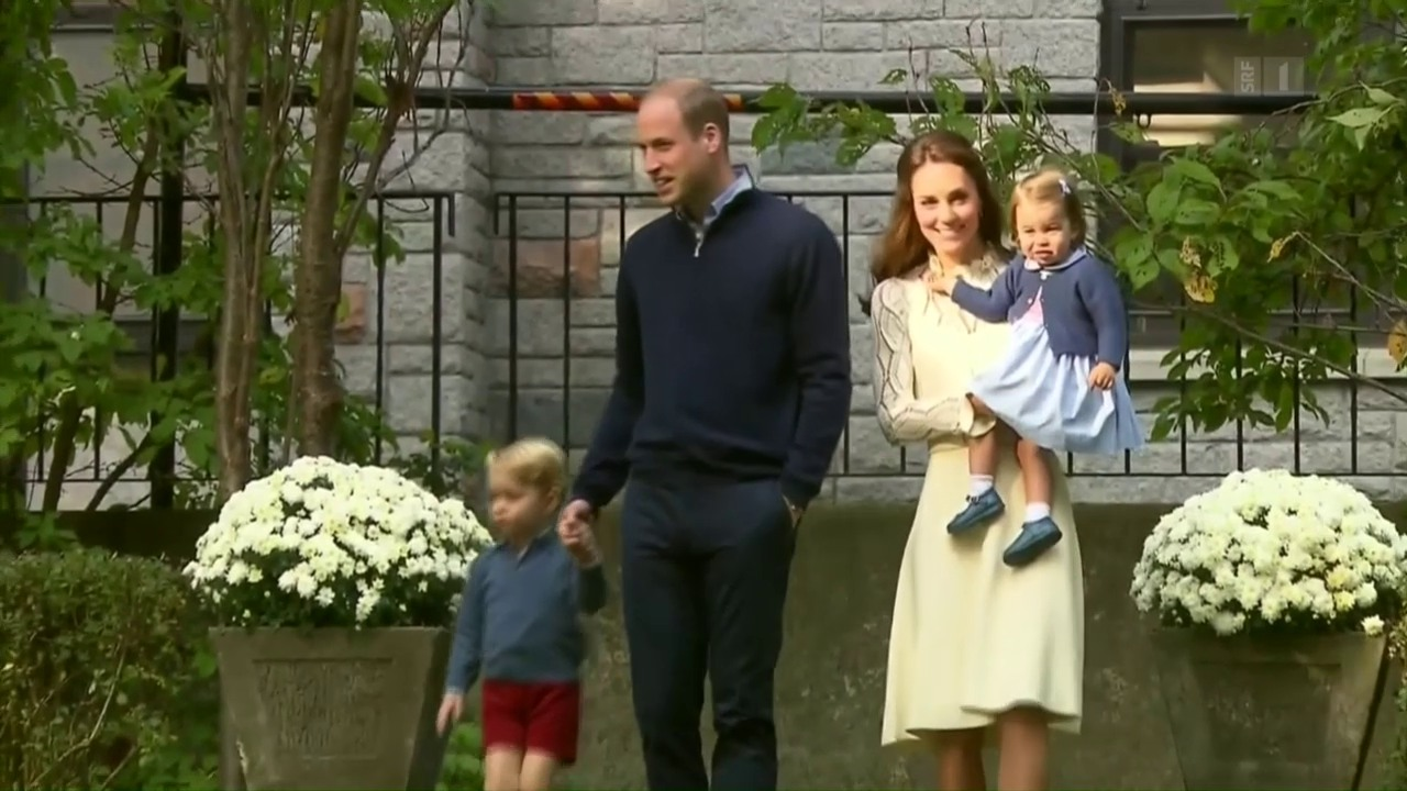 Englische Royals bei Kinderparty