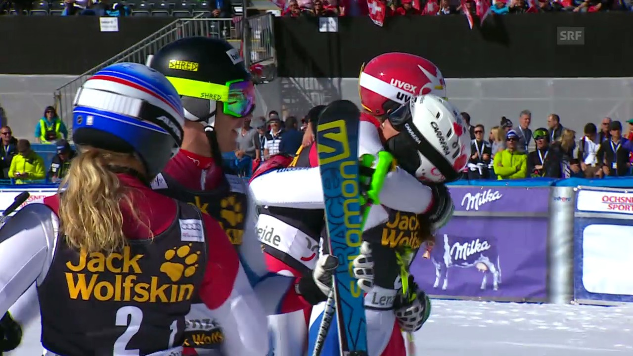 Schweiz gewinnt im Final gegen die USA («sportlive», 14.3.2014)